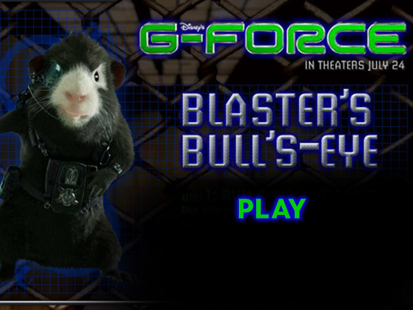 G-Force - Blaster's Bull's-Eye