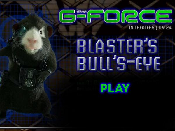 G-Force - Blaster's Bull's-Eye