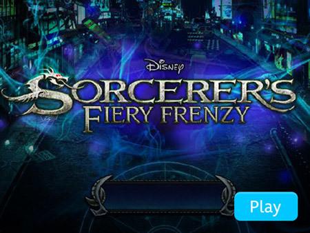Sorcerer's Fiery Frenzy