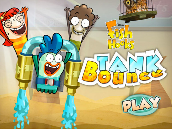 Fish hooks games disney channel philippines for Fish hooks disney