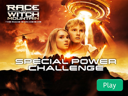 Race to Witch Mountain - Special Power Challenge