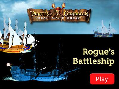 Pirates of the Caribbean - Rogue's Battleship