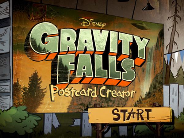 Gravity Falls: Postcard Creator