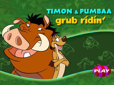 The Lion King - Grub Ridin'