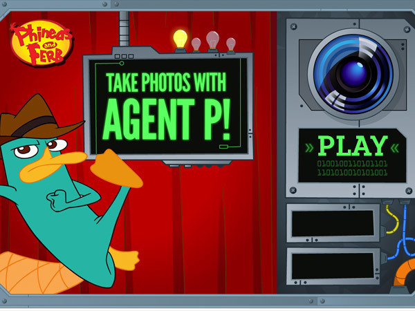 Take Photos with Agent P