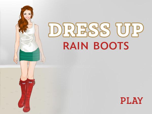 Dress Up: Rain Boots