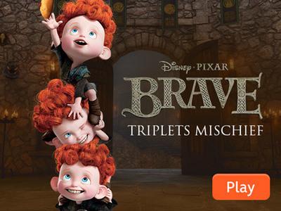 Brave - Triplets Mischief