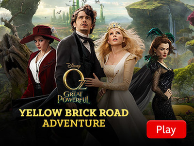 Oz: The Great and Powerful - Yellow Brick Road Adventure