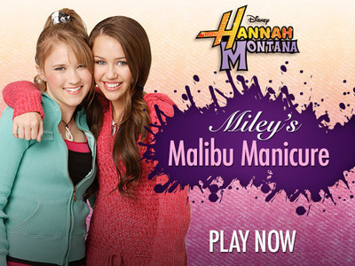 Miley's Malibu Manicure