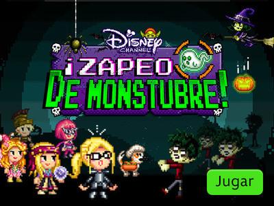 Disney Channel - ¡Zapeo de Monstubre!