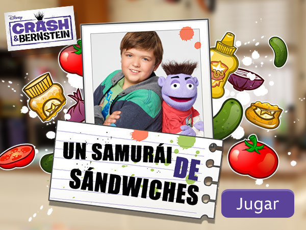 Crash & Bernstein - Un samuraí de sándwiches