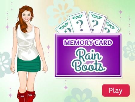 Memory Card: Rain Boots