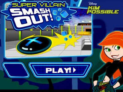 Super Villain Faces Super Villain Smash Out