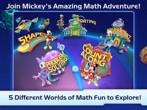Mickey's Magical Maths World Gallery