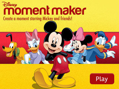 Mickey's Moment Maker