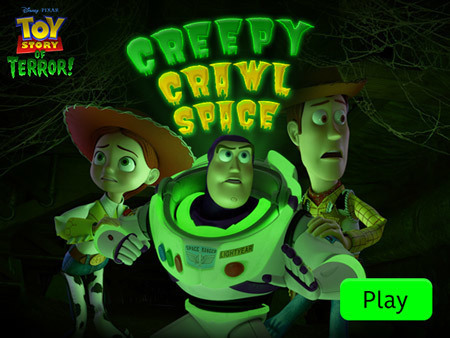 Toy Story of Terror - Creepy Crawl Space
