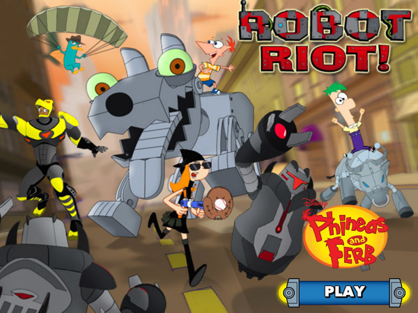 Phineas and Ferb: Robot Riot