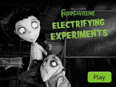 Frankenweenie: Electrifying Experiments