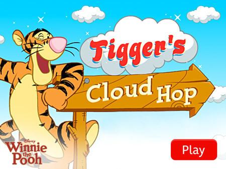 Winnie the Pooh - Tigger's Cloud Hop