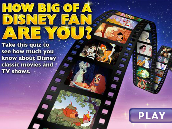 How Big Of A Disney Fan Are You?