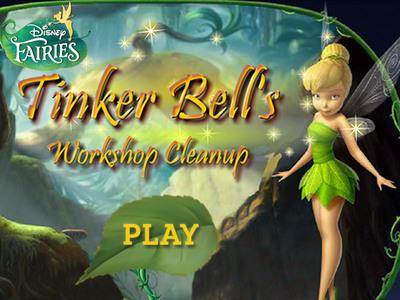 Tink's Workshop Clean Up