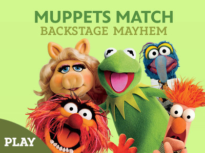 Muppets Memory Match