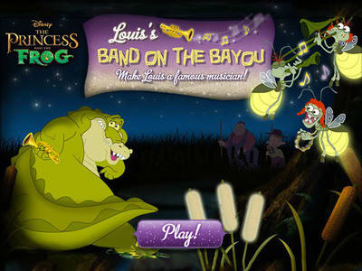 The Princess and the Frog - Louis' Band on the Bayou