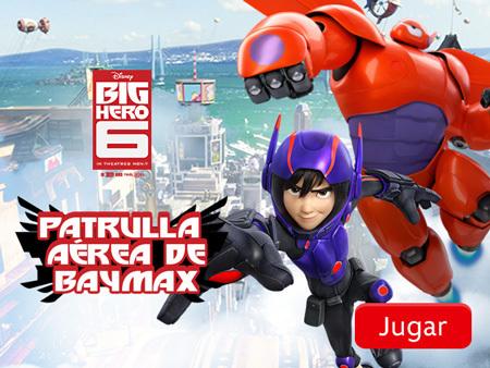 Big Hero 6 - Patrulla aérea de Baymax