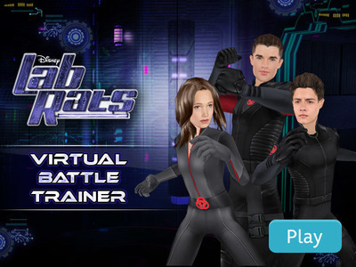 Lab Rats: Virtual Battle Trainer