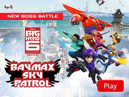 Big Hero 6 - Baymax Sky Patrol