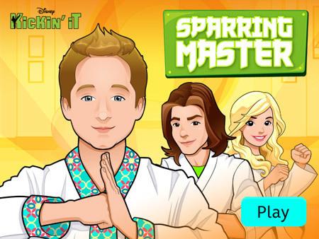 Kickin' It - Sparring Master