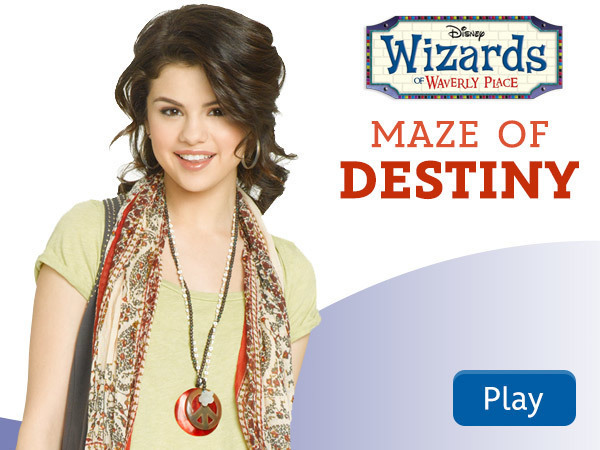 Wizards of Waverly Place - Maze of Destiny