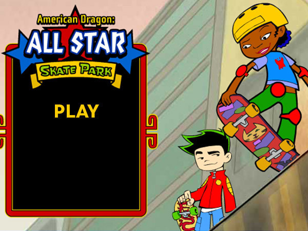 American Dragon: Jake Long - All Star Skate Park