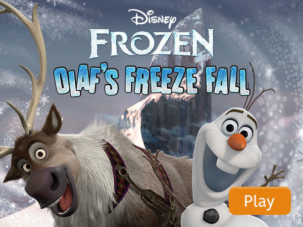 Olaf's Freeze Fall