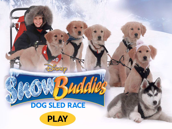 Snow Buddies - Dog Sled Race
