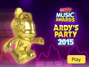 Radio Disney Music Awards: Ardy's Party 2015