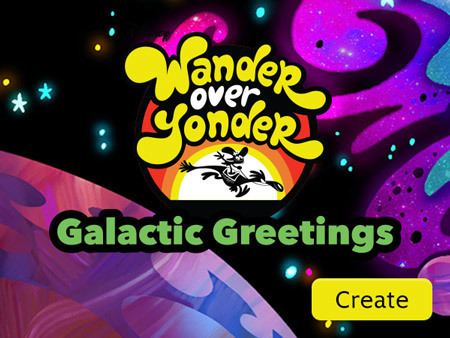 Wander Over Yonder - Galactic Greetings