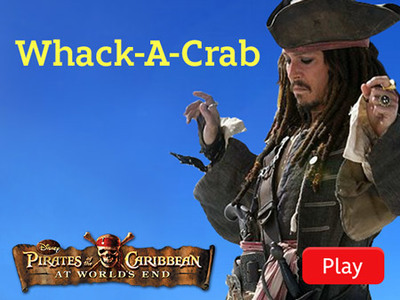 Pirates of the Caribbean - Whack A Crab