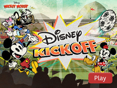 Mickey Mouse - Disney Kickoff