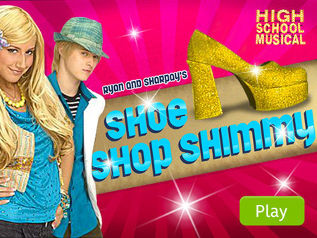 Ryan & Sharpay's Shoe Shop Shimmy