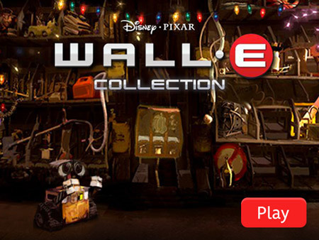 WALL-E - Hidden Object Game