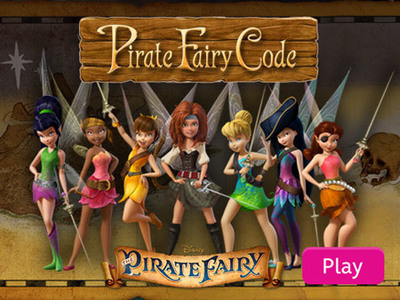 Disney Fairies - Pirate Fairy Code