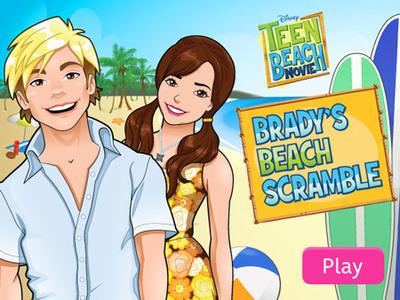 Teen Beach Movie - Brady's Beach Scramble