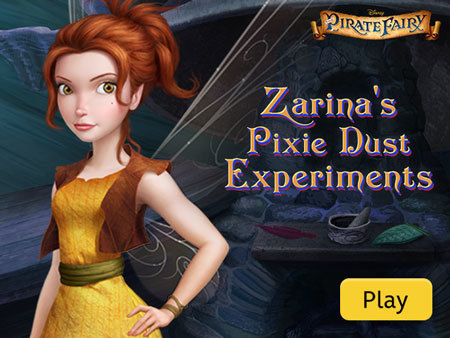 Zarina's Pixie Dust Experiments