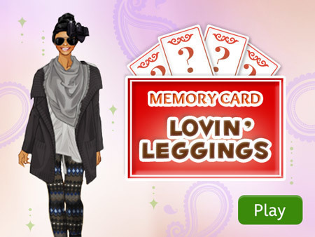 Memory Card: Lovin' Leggings