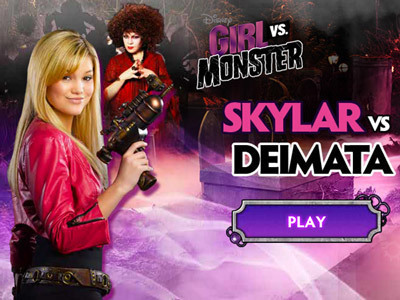 Girl vs. Monster: Skylar vs. Deimata Game