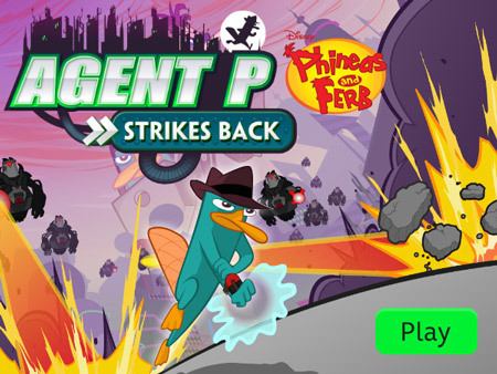 Agent P Strikes Back