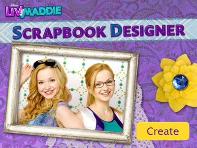 Liv and Maddie - Scrapbook Designer
