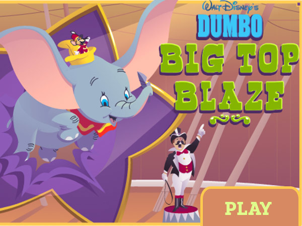 Dumbo Big Top Blaze