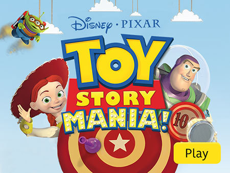 toy story mania create your own game in toy story mania play game